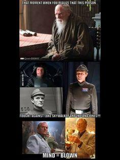 Star Wars, Indiana Jones, Game of Thrones connection Star Wars Jokes, Star Wars Facts, That Moment When, Lol, Indiana Jones, Nerd Geek, Mind Blown, Really Funny, Star Trek