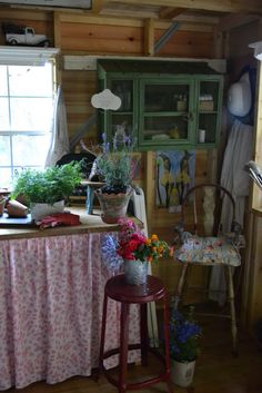 Three Pixie Lane: A Shabby Shed { Chic Meets Country }