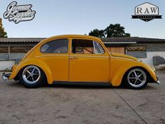 VW bug with south african Raw Sprintstar wheels