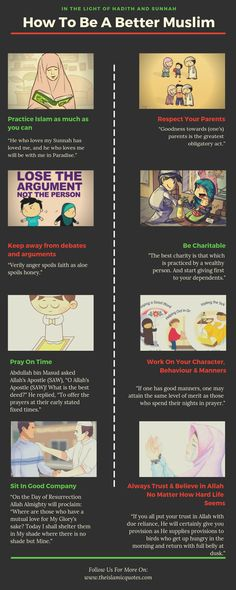 how to be a better muslim islamic quotes