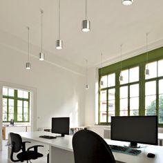 GAUGUIN - Overhanging spotlight, ideal for the lighting of entrances, corridors, small tables and counters. #LED #light_e_design #design #illumination #lamp #lightdesign #lighting #lamp #pendant #iluminacion #decor #office #decoracion #lampara