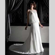 the non-traditional #wedding #gown