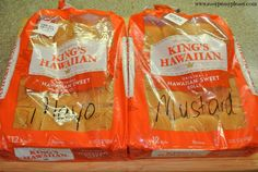 Easy TO GO food and no need for an extra container! Just throw these Cold Cuts Hawaiian Rolls in the cooler and away you go!