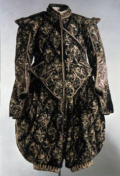 Wedding suit, most likely 1620. Please like http://www.facebook.com/RagDollMagazine and follow @RagDollMagBlog @priscillacita