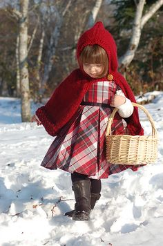 I want a red riding hood cape for the girls