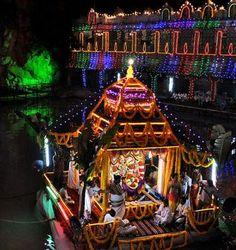 Teppotsavam is a boat festival celebrated in Sri Kapileswara Swamy Temple,Tirupati. Sri Kapileswara Swamy Temple is a popular temple governed under the