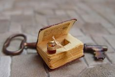 Secret compartment book from EV Miniatures