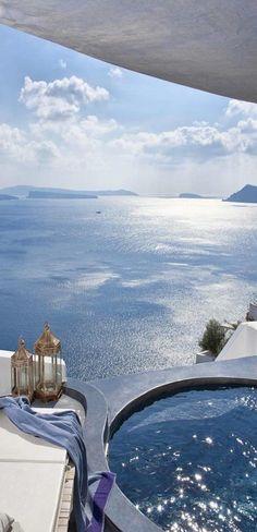 Me centro en las oportunidades por encima de los obstáculos. ¡tengo una mente millonaria! Santorini, Greece