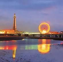 Blackpool, England: The Blackpool Circus is hilarious and so much fun. Lovely boardwalk town.