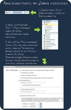 Mit einer Abwesenheitsnotiz kannst Du das E-Mail-Chaos zumindest etwas entschärfen. Wie Du diese mit Zimbra erstellst, zeigen wir in dieser Infografik