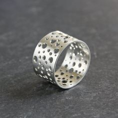 Constellation Silver Ring Wide Silver Ring by TorchfireStudio Silver Jewelry, Silver Rings, Unique Jewelry, Jewelry Ideas, Constellations, Coffee Maker, Jewelry Design, Jewelry Making, Ring Sizes