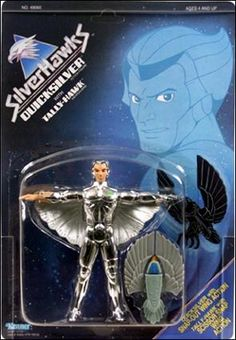 Quick Silver Silver Hawk action Figure