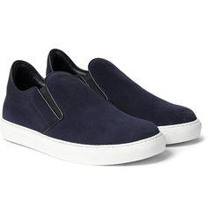 Mr. Hare - Llewelyn Suede Slip-On Sneakers