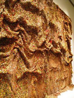 NYC/ Metropolitan Museum of Art: El Anatsui