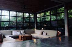 Interior Exterior, Interior Design, Modern Conservatory, Cozy Corner, House Design, Conservatories, Greenhouses, Furniture, Beautiful