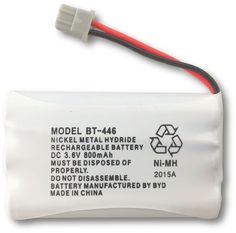 Uniden BT-446 Nickel Metal Hydride Rechargeable Cordless Phone Battery >>> Read more reviews of the product by visiting the link on the image.