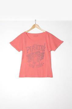 "Woman t-shirt S|S ""Pirates"""