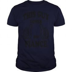 Awesome Tee This Guy Loves His Fiance Hoodies Shirts & Tees #tee #tshirt #named tshirt #hobbie tshirts # Fiance