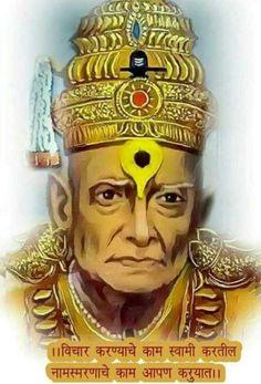 श्री स्वामी समर्थ Spiritual Stories, Saints Of India, Swami Samarth, Good Morning Images Hd, Jai Hanuman, Shree Ganesh, Vedic Mantras, Ganesha Painting, God Pictures