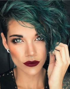 - Short haircuts ideas for woman,Short curly hairstyle for fine hair, curling short hair, curled hair short, #curlyhair #ShortHair #Hair #HairColor, Short hair;Edgy short hair;Short hair for women;short pixie haircut; female short hair Latest Short Hairstyles, Girls Short Haircuts, Trending Hairstyles, Pixie Hairstyles, Pretty Hairstyles, Bob Haircuts, Beach Hairstyles, Natural Hairstyles, Blonde Pixie