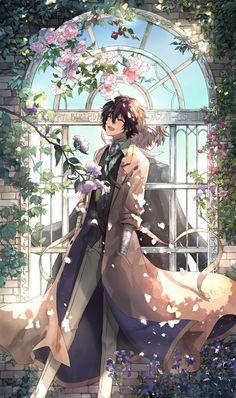 Dazai you beautiful man Otaku Anime, Manga Anime, Fanarts Anime, Bungou Stray Dogs Wallpaper, Dog Wallpaper, Dazai Bungou Stray Dogs, Stray Dogs Anime, Hiro Big Hero 6, Funny Chat