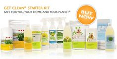 Shaklee home and health products
