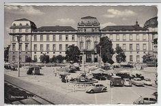 Darmstadt, Schloss, Sonderstempel 1962