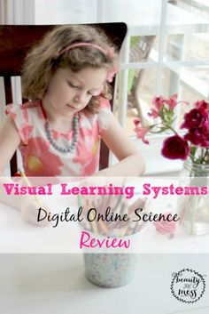 Visual Learning Systems Digital Science Online Review. A secular science video course for K-12 that you can take wherever you go. #review