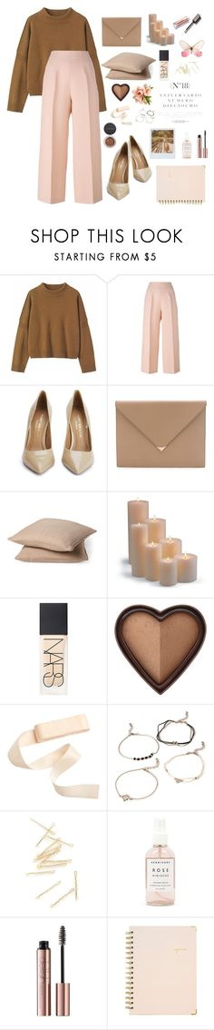 """brownie"" by birdsneezing ❤ liked on Polyvore featuring Toast, Fendi, Kurt Geiger, Alexander Wang, Rodeo Home, Frontgate, NARS Cosmetics, Sinclair, Too Faced Cosmetics and Forever 21"