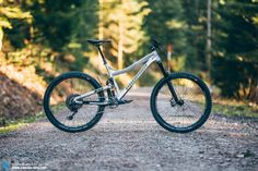 In our survey where we asked you which bike you would like to see in this group test, the Propain Tyee AM was a firm favourite. Cheap Bikes, Cool Bikes, Canyon Spectral, Balance Bike, Bike Parking, Bike Trails, Mtb, Mountain Biking, Racing