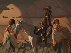 Logan Maxwell Hagege, The Storm Clears, oil, 30 x 40.