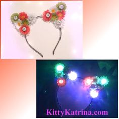 #LUVIT 😍 LUV making and sending out our festive Cinco de Mayo LED Cat Ears year-round! 🎉🇲🇽🎉 Available in our Holiday Flower Crowns / Headbands Section at www.KittyKatrina.com 😘 #cincodemayo #catears #kittyears #catearsheadband #flowercrown #flowercrowns #flowerheadband #flowerchild #hippieheadband #festival #festivalfashion #festivaloutfit #festivalwear #ravewear #raveoutfit #ravecostume #rave #edmgirls #edmfashion #edm #edmstyle