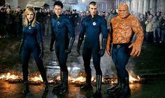 Still super? ...2005's Fantastic Four, with Jessica Alba, Ioan Gruffudd, Chris Evans and Michael Chiklis