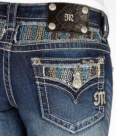 'Miss Me Glitz Boot Stretch Jean' #buckle #fashion www.buckle.com