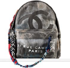 prive porter ∙ chanel graffiti embellished canvas backpack ∙ fashion ∙ bags ∙ purses ∙ style ∙ trend ∙ SOLD ∙ request restock by pinning ∙ Mochila Chanel, Primavera Chanel, Rucksack Bag, Backpack Bags, Fashion Backpack, Tote Bags, Leather Backpack, Chanel Handbags, Fashion Handbags