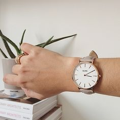 Find what makes you happy and make time for it #cluse #watch #minimal #elegant