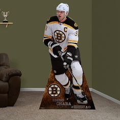 Zdeno Chará Stand Out | Boston Bruins Man Cave | Party Decor
