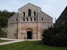 Chapter House, Abbaye (Abbey) de Fontenay (Exterior)