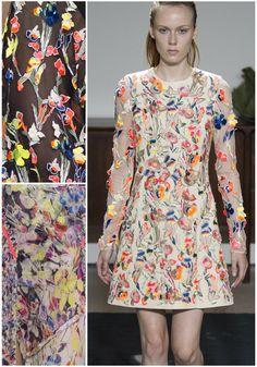 New York Fashion Week Print & Pattern Highlight: RTW Spring/Summer 2017 – Jason Wu