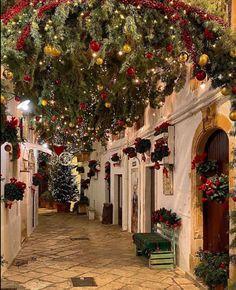 Christmas Scenery, Christmas Home, Italy Map, Travel Destinations, Exterior, Holiday Decor, Beautiful, Instagram, Celebrating Christmas