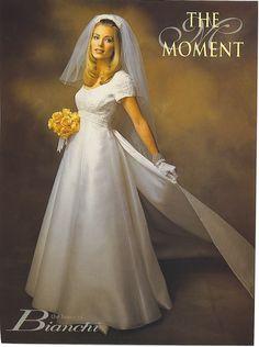 1980s Wedding Dress, Wedding Gowns, Wedding Styles, One Shoulder Wedding Dress, Marie, Weddings, Bridal, Modern, Vintage