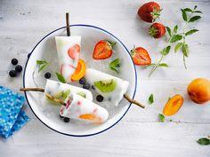 Ledový dezert přijde i během letní grilovačky každému velmi k chuti; Alpro