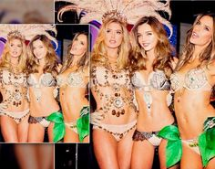 Miranda Kerr posted what appeared to be an old Photoshopped picture of herself from the 2012 Victoria's Secret Fashion Show to her Instagram account on Nov. 12, 2013. The model, who seemed to have a much slimmer waist in the snapshot, later claimed she had taken a screen grab of the photo from the Internet and had no idea it had been retouched.