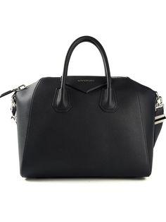 Black goat skin or. Black goat skin or. Givenchy Tote Bag, Givenchy Handbags, Blue Handbags, Burberry Handbags, Purses And Handbags, Burberry Bags, Givenchy Antigona, Tote Purse, Crossbody Bag