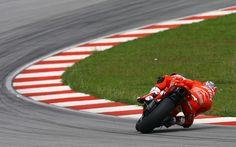 Casey Stoner Sepang Ducati