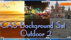Sims 4 - CAS Background Set Outdoor 2