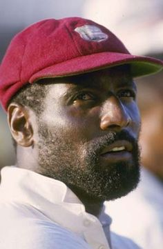 Boyhood hero - Sir Viv Richards. #WestIndies #Cricket