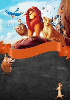 Simba Et Nala, Baby Simba, Lion King Party, Lion King Birthday, Le Roi Lion Disney, Walt Disney, All Disney Movies, Disney Characters, Dinosaurs