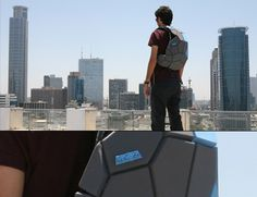 Wow very cool backpack for my fashionable man..n_n