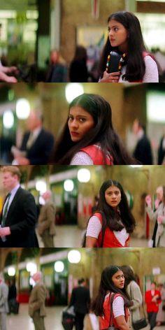 Dilwale dulhania le jayenge Shahrukh Khan And Kajol, Shah Rukh Khan Movies, Salman Khan, Srk Movies, Hindi Movies, Bollywood Couples, Bollywood Stars, Karisma Kapoor, Boy Meets World